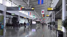 A tour of Dulles International Airport's Main, A, and B terminals (Part Usa Doctor, Just Go, Maine, Health Care, Tours, Travel, Viajes, Destinations, Traveling