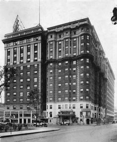 """The old hotel on Grand Circus Park stood from 1906 until 1991, and is one of 15 lost landmarks chronicled in """"Forgotten Landmarks of Detroit"""" by Dan Austin (History Press, $22.99, 263 pages)."""
