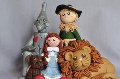 Wizard of Oz Clay Figurine.