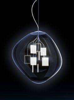 lampada in vetro di murano - Massimo Iosa Ghini design