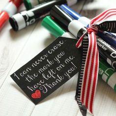 20 cheap, easy, cute & practical teacher appreciation gifts - It's Always Autumn