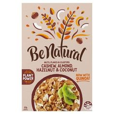 Be Natural Cereal 3 Nuts & Coconut