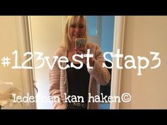 Iedereen kan haken© #123vest stap 3 - how to crochet a singlet, (different languages subtitled). - YouTube