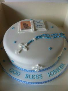 communion cakes for boys | Boys Holy Communion Cake
