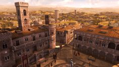 Colle Campidoglio (Roma) Capitoline hill (Rome)  Assassin's creed brotherhood