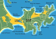 mapa de búzios mapa de búzios