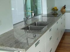 White Kitchen Cabinets With Gray Granite Countertops top white kitchen cabinets with granite countertops | jeannies