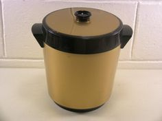 Vintage Ice Bucket Vintage Barware Mid Century Barware Mid