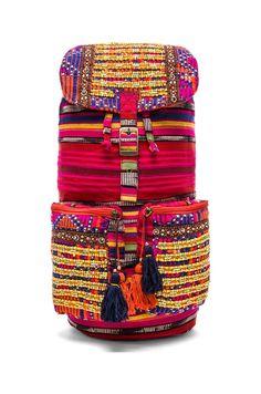 Boho backpack // amazing detail