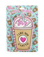Latte Spiral Bound Journal
