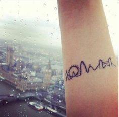 Monument skyline! Hopefully one of my future tattoos ☺️❤️