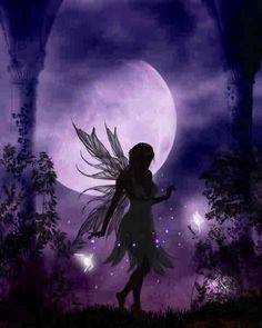 Moon shadow Fairy