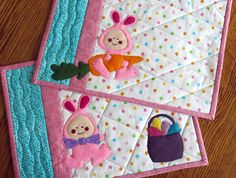 Easter Bunny Placemats/Easter Bunny/Dining/Table by twistedsticks