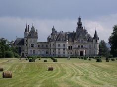 Romanesque Architecture, Classic Architecture, Historical Architecture, Palaces, Beautiful Castles, Beautiful Places, French Castles, Château Fort, Castle House