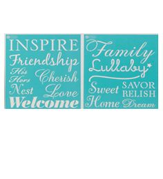 Martha Stewart Crafts™ Inspiration Laser-Cut Stencils