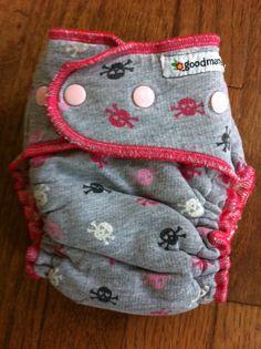 #GoodMama cloth diaper.