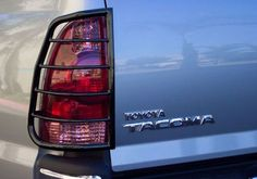 Toyota Tacoma Accessory - Steelcraft Toyota Tacoma Black Powdercoat Tail Light Guards  I like the idea.