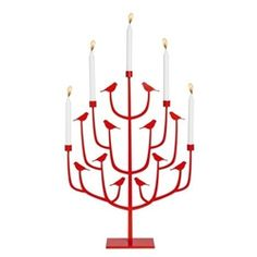 Pluto Produkter Red Candle Holders now in the sale at Northlight Homestore