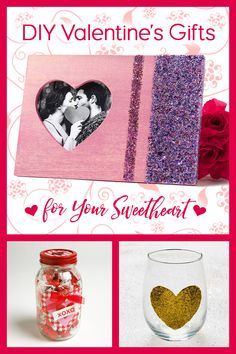 Ditch the flowers and candy for a heartfelt, sentimental gift that your loved one will enjoy. Reclaim and relove found items for easy DIY Valentine's crafts. Click our link for full instructions Valentine Day Crafts, Sentimental Gifts, Creative Inspiration, Diy Art, Easy Diy, Palette, Diy Crafts, Candy, Link