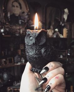 SUPPORT HANDMADE 🖤 Throughout the next couple of weeks, I'll be sharing some of my favorite artists, designers, and small businesses in honor of the upcoming holiday season! When you buy from handmade. Tattoo Studio, Goth Home, Witch House, Witch Cottage, Witch Aesthetic, Character Aesthetic, Gothic Home Decor, Gothic House, Handmade Home Decor