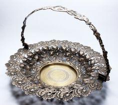 Polska ażurowa misa kwiaty Fraget plater Crown, Jewelry, Corona, Jewlery, Jewerly, Schmuck, Jewels, Jewelery, Crowns