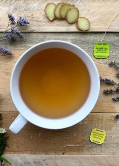 Bigelow Tea's Lavender Chamomile Tea plus Probiotics offers the sweet and soothing taste of chamomile with the relaxing aroma of lavender plus probiotics that supports healthy digestion.