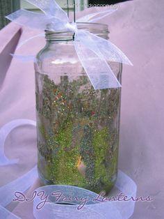 DIY Fairy Lantern | Who Needs A Cape? #fairy #fairies #kidscrafts