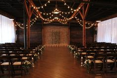 Sara + Jay | Houston Station, Nashville, TN | This lovely couple accented their evening with a neutral palette of ivory, green, & gold | @southernevents | Southern Sky Event Lighting | JD's Music | @nashvillebloom | Peg Leg Porker