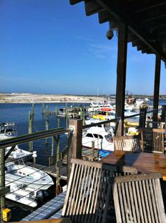 View Of Destin Harbor From Aj S A Por Local Seafood Restaurant And Night Spot