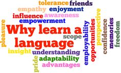 The Real Reasons Why We Study Languages
