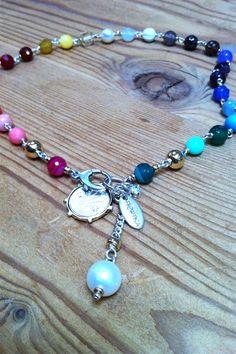 Fiorina Pearlina Chakra necklace