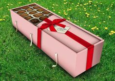 Chocolate Casket..... Now that's different.