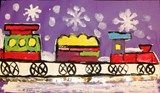 Artsonia Art Exhibit :: 1B-Trains