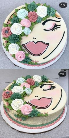 Mother Birthday Cake, Slab Cake, Bolo Floral, Birthday Sheet Cakes, Character Cakes, New Cake, Bakery Cakes, Specialty Cakes, Novelty Cakes