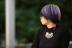 More purple hues.