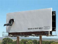 Wear a seat belt.