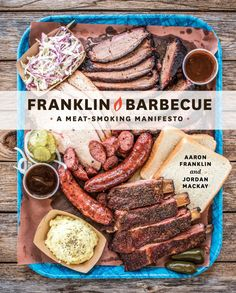 Aaron Franklin just published his first cookbook, and a meat-smoking manifesto it is. A meticulously detailed guide to barbecue—from how to build a smoker and choose firewood, to cooking and slicing the meat, to pairing barbecue with beer—Franklin gives you the tools and knowledge to make your own award winning barbecue at home.