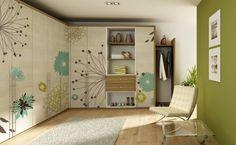 zabudované skříně - Hledat Googlem Divider, Entryway, House Design, Bedroom, Furniture, Home Decor, Entrance, Bedrooms, Main Door