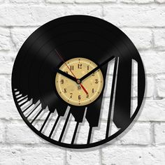 Vinyl Clock - Piano                                                                                                                                                                                 More
