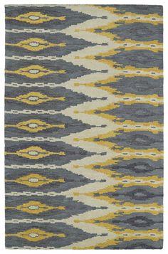 Hocca Hand-Tufted Graphite Area Rug