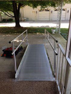 Recent 10 ft ezacessramp we installed Portable Ramps, Nashville