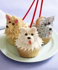 puppy cupcakes for Carlos'  birthday :)