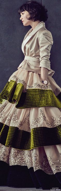 Alexis Mabille Couture Fall 2015 women fashion outfit clothing style apparel @roressclothes closet ideas