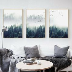 Günstige Nordic Decoration Forest Lanscape Wandkunst Leinwand Poster und Leinwanddruck - Diet Tips For Beginners - Eye Shadow Palette - DIY Jewelry To Sell - Braided Hairstyle - DIY Home Pictures Living Room Decor Pictures, Rooms Home Decor, Decor Room, Bedroom Decor, Kids Bedroom, Baby Bedroom, Home Wall Art, Wall Art Decor, Wall Decorations