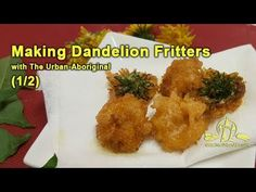 In this video 2 of I will walk through a quick recipe to create deep-fried dandelion flower head fritters. Below is a quick recipe for batter. Aboriginal Food, Quick Recipes, Fritters, Dandelion, Urban, Chicken, Fast Recipes, Beignets, Dandelions