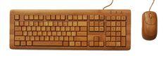 iZen desktop bamboo keyboard
