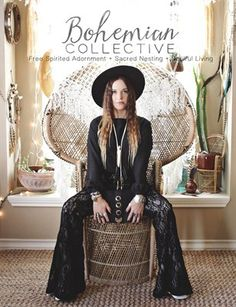 Bohemian Collective Magazine The first print version of this magazine—An artists community full of bohemian inspiration for your wardrobe, home & life—available through MagCloud