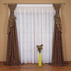 amenajari interioare Curtains And Draperies, Elegant Curtains, Long Curtains, How To Make Curtains, Modern Curtains, Window Drapes, Hanging Curtains, Drapes Curtains, Rideaux Design