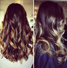 Sun kissed balayage hair