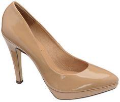 Ravel Marcia Nude Patent Platform Court Shoe